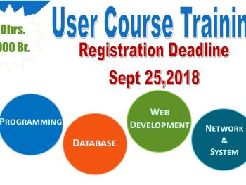 User Course Training Registration Deadline Extended